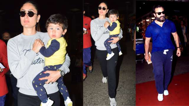 Our daily dose of happiness, Taimur Ali Khan is back in town! But, why is he growing up so fast? (Pic Courtesy: Yogen Shah)