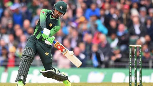 Fakhar Zaman scored 515 runs in the ODI series against Zimbabwe including his 210*. (Photo - Zimbabwe cricket)