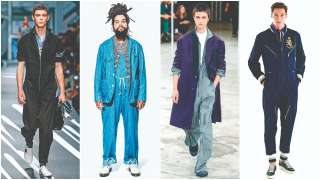 Spring Summer 2018: Warm up to the boiler suit