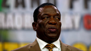 Zimbabwe President Emmerson Mnangagwa unhurt after 'cowardly' bla...