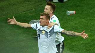 FIFA World Cup 2018: Germany stay alive as Toni Kroos scores in 95th minute...