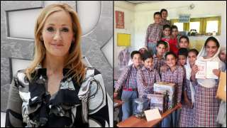 JK Rowling's generosity brings smiles to these Jammu and Kashmir stude...