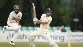 Warming up for Tests series, Alastair Cook scores unbeaten hundred for Engl...