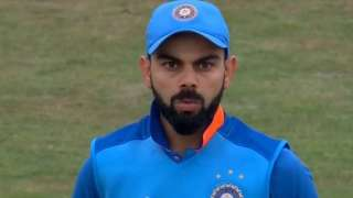 Watch: India vs England 3rd ODI: Virat Kohli shell-shocked after being clea...