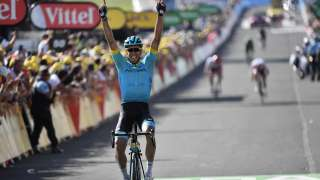 Omar Fraile wins Stage 14 on Saturday - AFP
