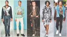 Designers toy with a wide array of prints in Spring 19 London menswear...