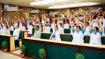 Yoga helps to keep non-communicable diseases at bay: Experts