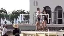 Malaysia mosque bans tourists after video of 'indecent dance...