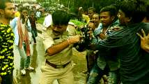En route to PM Modi's Midnapore rally, angry BJP supporters clash...