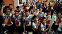 'Survived only on water': Thai cave boys speak of 'mira...