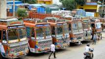 In Pics: As transport strike enters second day, residents share how route h...