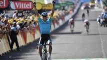 In Pics - Tour de France: Omar Fraile takes stage 14 as Geraint Thomas reta...