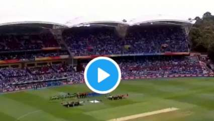 National Anthem at Trent Bridge