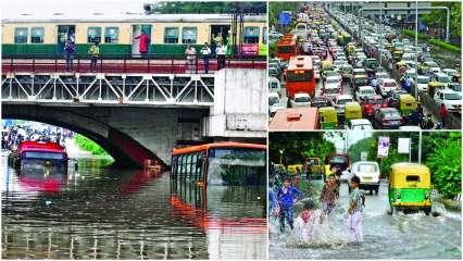 Delhi-waterlogging